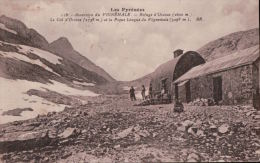 20   VIGNEMALE 1935 TIMBRE  VERSO - France