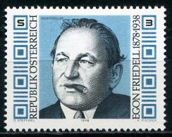 Österreich - Michel 1566 - ** Postfrisch - Egon Friedell - Wert: 0,70 Mi€ - 1945-.... 2. Republik