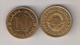Yugoslavia 10 Para 1978. UNC/AUNC - Yugoslavia