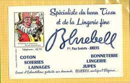 BUVARD :Bonneterie Lingerie BLUEBELL Amiens  Imagerie Epinal  Ou Est Caché Colombine - Textile & Clothing