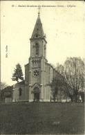 2q - 38 - Saint-Siméon-de-Bressieu X - Isère - Eglise - Caillat. N° 22 - France