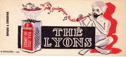 - BUVARD Thé LYONS - 101 - Café & Thé