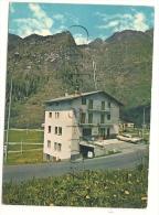 Valtournenche (Italie, Val D'Aosta) :  Hotel Sans Souci  En 1980 (animé). - Italia