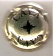 PLACA DE CAVA SIN NOMBRE  (CAPSULE)  COLOR DORADO - Mousseux
