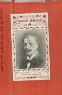 CHOCOLAT GRONDARD,  V. JONCHERES, COMPOSITEUR,  PUBLICITES, PERSONNAGES CELEBRES, AVRIL 2013  1247 - Sonstige