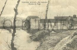 PORTUGAL - TORRES NOVAS - RIO ALMONDA-MOINHO DO PEGO - WATER MILL - MOULIN A EAU -1905 PC. - Santarem