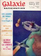 GALAXIE ANTICIPATION N° 53 (1ère Série) Avril 1958. Voir Sommaire. - Livres, BD, Revues