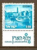 Israel - 1971, Michel/Philex No. : 534,  - MNH - *** - Full Tab - Israel
