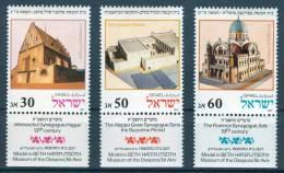 Israel - 1987, Michel/Philex No. : 1070-1072, - MNH - *** - - Ongebruikt (met Tabs)