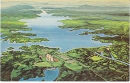 Seneca SC South Carolina, Duke Power Co. Nuclear Power Plant, C1960s/70s Vintage Postcard - Other