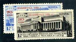 (e4124)  Russia  1933   Mnh**  Mi.427-428  (catalogue €420,00) - Unused Stamps