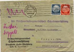 N253 Brief DR St. Halle Schadenverhütung - Allemagne