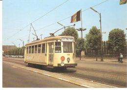 AMUTRA 4 - Motrice TN 9276 Avenue Houba à Laeken (Belgique) - - Strassenbahnen