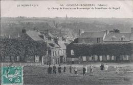 CONDE SUR NOIREAU  Le Champ De Foire Et  Vue Panoramique De Saint Pierre Du Regard - Altri Comuni