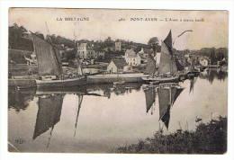 29- Pont Aven -l'aven à Marée Haute - Pont Aven