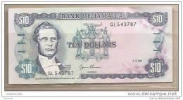 Giamaica - Banconota Non Circolata Da 10 Dollari - 1994 - Giamaica