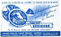 - BUVARD Fromage LA VACHE SERIEUSE - 110 - Leche