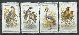 110 TRANSKEI 1980 - Oiseaux - Neuf Sans Charniere (Yvert 75/78) - Transkei