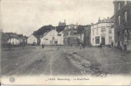 BEAURAING ..-- La Grand ' Place . 1918 Vers Alemagne . Feldpost . Voir Verso . - Beauraing
