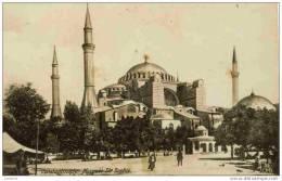 CONSTANTINOPLE - Mosquée Sainte-Sophie - CPA Bromure - Turchia