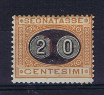Italy: Segnatasse 1890 Sa 18, Mi 18, MH/* Signed, - 1878-00 Humbert I.