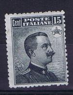 Italy: 1909  Sa 86 , MH/*, Mi 94 - 1900-44 Vittorio Emanuele III