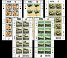 Malta 2009 - Fungi Souvenir Sheetlet Set Mnh - Mushrooms