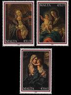 Malta 2009 - Christmas Stamp Set Mnh - Christmas