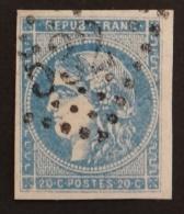 YT 45C Oblitéré GC 532 , Départ 0.01€ SANS PRIX DE RESERVE, 4 Marges, Sans Amainci , Cote 70 € - 1870 Uitgave Van Bordeaux