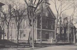 Maine Machas County Building Albertype