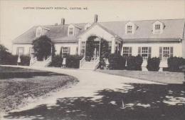 Maine Castine Castine Community Hospital Artvue