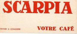 - BUVARD Café SCARPIA - 120 - Koffie En Thee