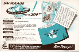 - BUVARD ATLAS Du Monde à BONDUES, Nord - 122 - Cartoleria