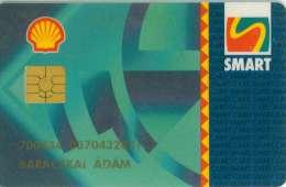 TELECARTE A PUCE HONGRIE SHELL PETROLE - Petrole