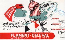 - BUVARD TEINTURERIE FLAMENT-DELEVAL à LAMBERSAT  - 126 - Textile & Vestimentaire
