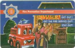 TELECARTE JERSEY POMPIERS - Pompiers