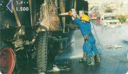 TELECARTE KOWEIT POMPIERS - Pompiers