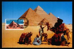 EGYPT / MAXICARD / MAXIMUM / THE PYRAMIDS / EGYPTOLOGY - Egypt