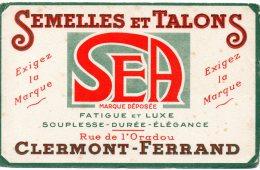 - BUVARD Semelles Et Talons SEA , CLERMONT-FERRAND - 142 - Schuhe