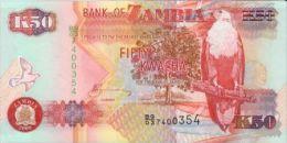 ZAMBIE - 50 Kwacha 2008 UNC - Zambia