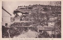 CPA 24  LES EYZIES ,vue Des Fouilles Préhistoriques. - Frankreich