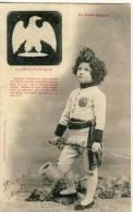 CP, Illusion D'Optique - Le Petit Aiglon, Dos Simple, Voyagé  En 1902 - Cartes Postales