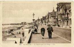 CP, 44, La Baule, Le Boulevard Et La Plage, Voyagé En 1916 - La Baule-Escoublac