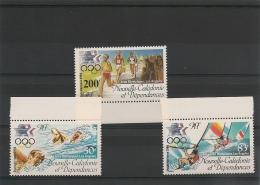 NOUVELLE CALÉDONIE Année 1984 P.A.  N°Y/T :240/242** Côte : 14,60 € - Poste Aérienne