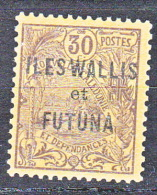WALLIS  N� 9 NEUF (*) VARIETE WA DE WALLIS ETROIT TTB