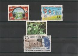 NOUVELLE CALÉDONIE Années 1987/88 P.A.  N°Y/T :255/256-258/259** - Poste Aérienne