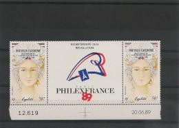 NOUVELLE CALÉDONIE Année 1989 P.A.  N°Y/T :261A** - Poste Aérienne