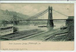 Point Suspension Bridge-Pittsburgh - Pittsburgh