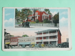 ABINGDON - Hotel ABINGDON, Irwin B.WELLS, Owner, 34 Wall And 315 Main Street. - Etats-Unis