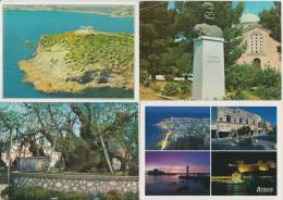 9 USED POSTCARDS : GREECE / GRIEKENLAND / GRECHE / GRIECHENLAND - Cartes Postales